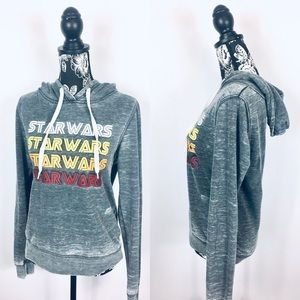5 for $25 Star Wars grey soft hoodie